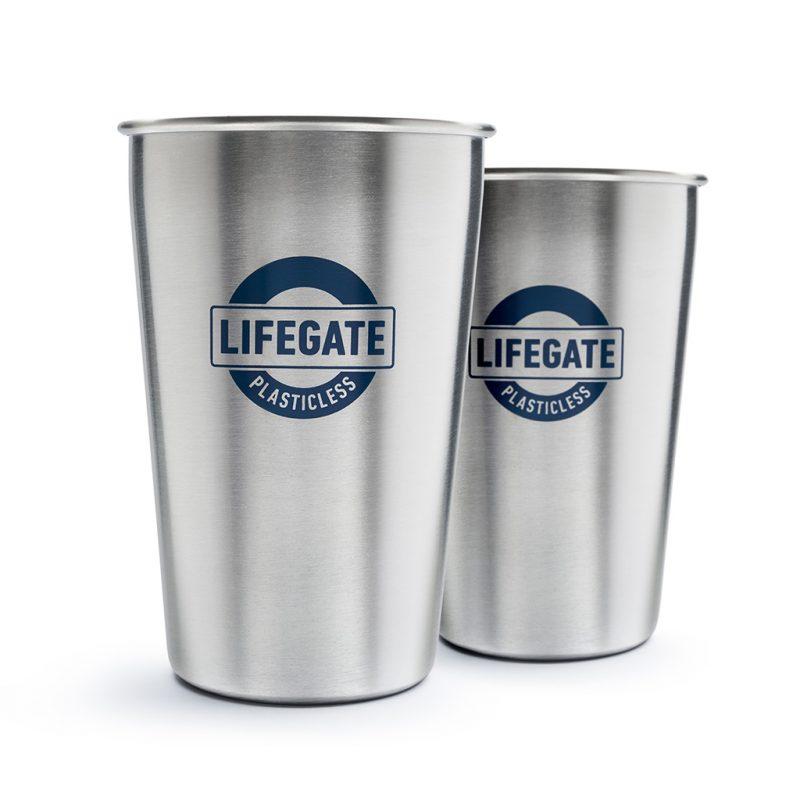 bicchieri lifegate plastic less